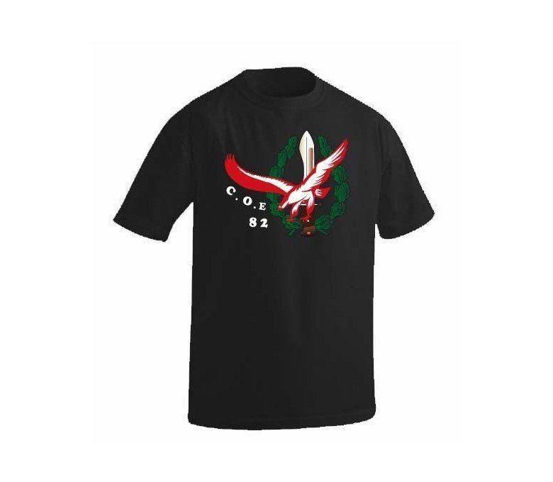 camiseta COE 82 negro