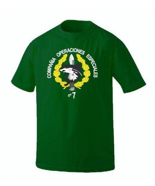 camiseta COE 7 emblema verde