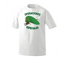 SPECIAL OPERATIONS GREEN BERET T-SHIRT WHITE