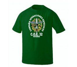 COE 32 T-SHIRT GREEN