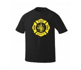 Camiseta-Fire-Department-negra