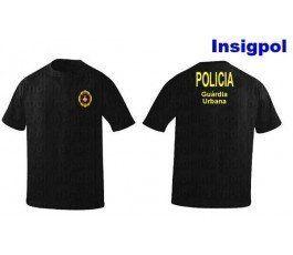 BARCELONA-LOCAL-POLICE-T-SHIRT