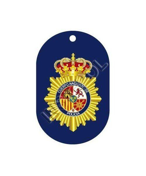 SPANISH POLICE DOG II TAG