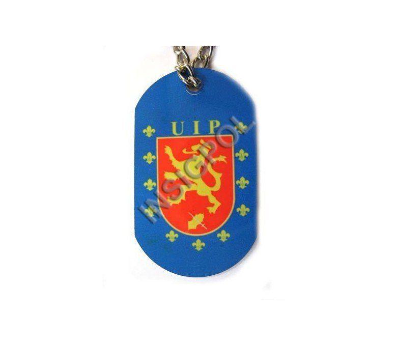 UIP SPANISH POLICE DOG TAG