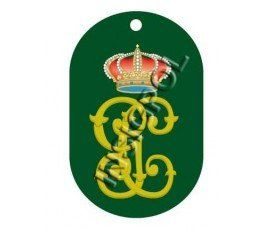CIRCULO AHUMADA CIVIL GUARDS DOG TAG