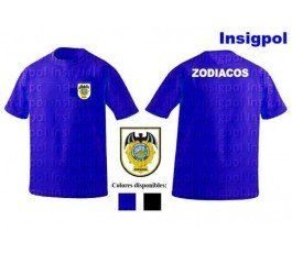 CNP SPANISH NATIONAL POLICE UPR ZODIACOS T-SHIRT