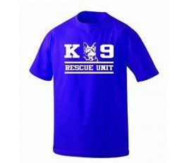 K-9 RESCUE UNIT T-SHIRT