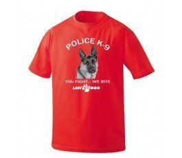 K-9 YOU FIGHT WE BITE T-SHIRT