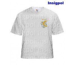 SPANISH NATIONAL POLICE GEO WHITE T-SHIRT