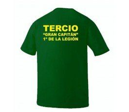 1ST SPANISH LEGION TERCIO GREAT CAPTAIN T-SHIRT 2